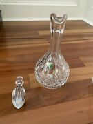 Waterford Crystal Wine Spirit Decanter And Stopper Never Used