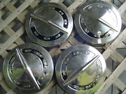 Vintage Ford Pickup Truck Galaxie Fairlane Ltd Police Pickup Hubcaps Center Caps
