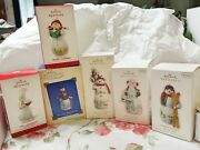 Hallmark Snowtop Lodge Ornaments Lot Of 6 New And Used