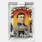 Topps Project 70 Card 565 - Honus Wagner By Tyson Beck - Presale