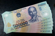 Vietnam 10 Million Dong = 500000 X 20 Notes Uncirculated Notes Fast Shipping.
