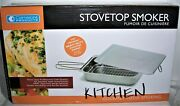 Camerons Stovetop Smoker The Original Stainless Steel Smoker New In Box