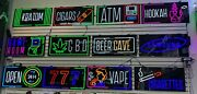 Neon Led Signs For Business/gas Station/ Convenience Store Plug And Play