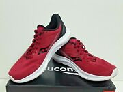 Saucony Kinvara 12 Women's Running Shoes Size 8.5 Cherry / Silver Used