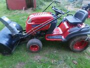 Toro Gt 2200 Tractor With Two Stage Snowthrower Attachment...local Pickup Only