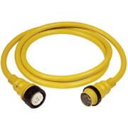 Marinco 50amp 125/250v Shore Power Cable - 25and039 - Yellow