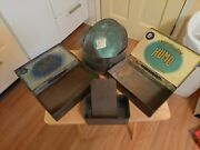 Metal Boxes And Tins. Lot Of 4. Cigar Cigarette And Flour. Vintage.