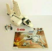Lego Star Wars 75221 Imperial Landing Craft W Instructions And 4 Minifigs No Box