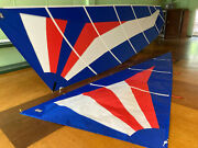 New Hobie Miracle Mainsail And Jib, Dacron Tri-radial Colors Available