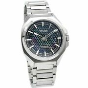 Citizen Series 8 Na1010-84x Automatic Blue Silver Stainless Round Analog Menand039s