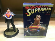 Dc Direct Superman Forever 1 Statue 12andrdquo Alex Ross Full Size 1594/5000