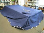 Floe Boat Lift Canopy 10and039 X 20and039 Blue / White 2013 Marine
