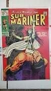 Sub-mariner 9 1st Appearance Of The Serpent Crown Vf To Vf+ Marvel 1969