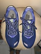 Brooks Ghost 12 Women's Size 11 B Blue Running Shoes Pre-owned