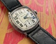 Antique Waltham Art Deco Wrist Watch Keeps Great Time American Made