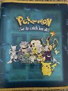 Pokemon Binder Collection Vintage Wotc 1st Editions/holos/all Included 150+cards