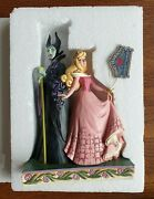 Disney - Maleficent And Aurora Sorcery And Serenity Figurine By Jim Shore
