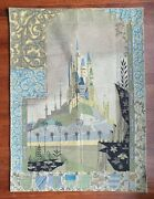 Disney - Sleeping Beauty Castle Wall Hanging Tapestry Limited Edition Of 1,000