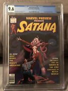 Marvel Preview Cgc 9.6 White Pages 1st Gotg Rocket Raccoon Santana Cover