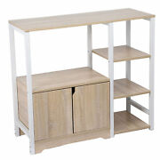 Shelf Simple Sturdy Cabinet Multilayer For Kitchen