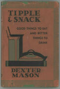 Vintage Cocktail Book Prohibition Bar Guide Party Tipple And Snack Dexter Mason