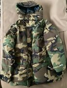 100 Authentic Supreme Fw15 Uptown 700 Fill Down Parka Jacket Camo Size L