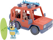 Bluey, 4wd Family Vehicle, With 1 Figure And 2 Surfboards | Customizable Car - |