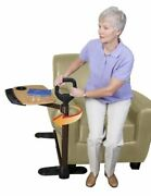 Able Life Able Tray Table Adjustable Bamboo Swivel Tv And Laptop Table With Erg