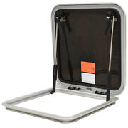 Bomar Boat Vent Hatch N1080-10px | 18.5 Inch Low Profile Silver