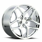 Factory Reproductions Fr 27f Z28 Camaro 20x9 5x120 Offset 27 Chrome Qty Of 4