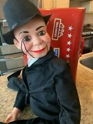 Charlie Mccarthy Dummy Ventriloquist Doll Most Famous Celebrity Radio Persona...