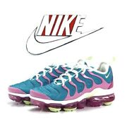 Nike Air Vapormax Plus Easter Blue And Pink Women's Size 9.5 Shoes Cw7014 100