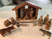 Debrekht 16 Pc. Nativity Numbered Limited Edition Retired