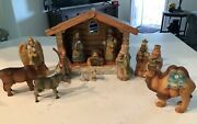 Debrekht 13 Pc. Nativity Retired Numbered Limited Edition