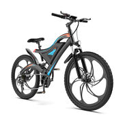 26 Fat Tire 500w Electric Bike Mountain Bicycle 48v/15ah 7 Speed City Beach Us