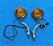 🔥 Nos 1940and039s 1950and039s Unity H1 Gm Script Fog Lights Lamps Chevy Buick Cadillac
