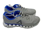 Reebok Zigtech Shoes Menand039s Size Us 10.5 Grey And Blue Pre-owned.discontinued Model