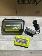 Ryobi 40-volt Lithium-ion 6 Ah Battery And Charger Kit For Cordless Power Tools