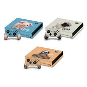 Official Animal Club International Faces Vinyl Skin Decal For Xbox One X Bundle