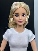 Barbiestyle Doll Barbie Style Signature For Ooak Repaint Made To Move Body Gtj82