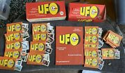 Ufo Gum Card Counter Box Full Unused Album Book And Unused Packets And 164 Packs