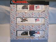 Lionel O Gauge Freight Train Car Old Glory Collector Series 6-19599 Un-opened