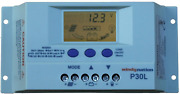 Windynation P30l Lcd 30a Pwm Solar Panel Regulator Charge Controller With And