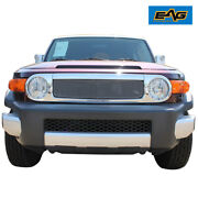 Eag Stainless Steel Wire Mesh Packaged Grille Fit For 07-14 Toyota Fj Cruiser