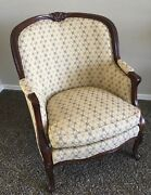 Hancock And Moore Furniture - French Chair Balfour 9516 Solid Wood Local Pickup