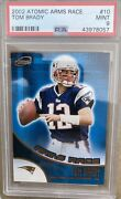 One And Only👀 Psa Pop 1/1 Tom Brady 2002 Pacific Atomic Arms Race 10 Psa 9