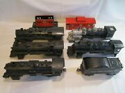 Vintage Post Wwii Lionel Train Lines O Gauge Part Pieces Engine Shell Lot And Marx