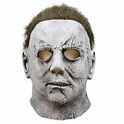 Halloween Mask Michael Myers Costume Mask For Men Horror Cosplay For Adult Latex