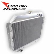 3 Rows Aluminum Radiator For Ford F-100 F-150 F-250 F-350/ 1978 Bronco 1968-1979