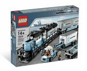Lego Exclusive 10219 Maersk Train - 100 Complete W/ Box